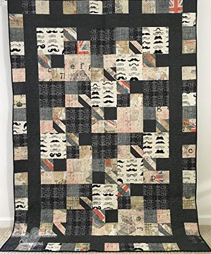 Amazon Twin Size Sherlock Holmes Inspired Quilt With London