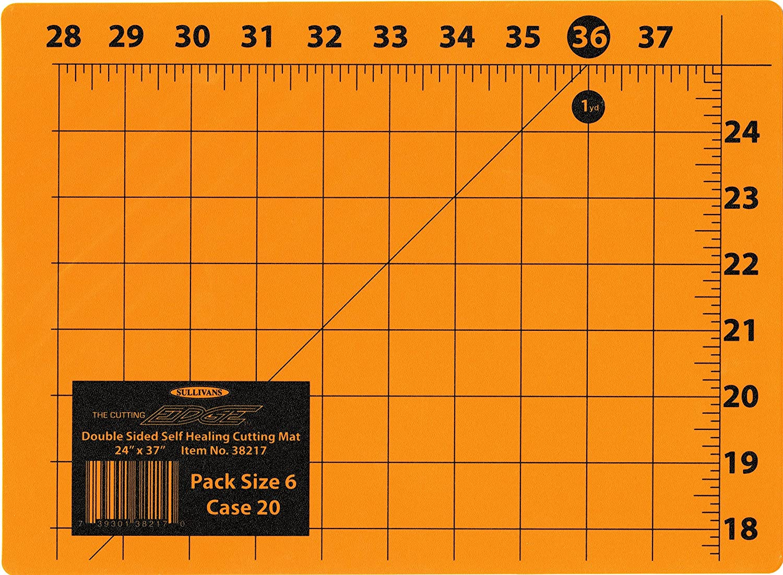 Sullivan The Cutting Edge 24-Inch-by-37-Inch Cutting Mat