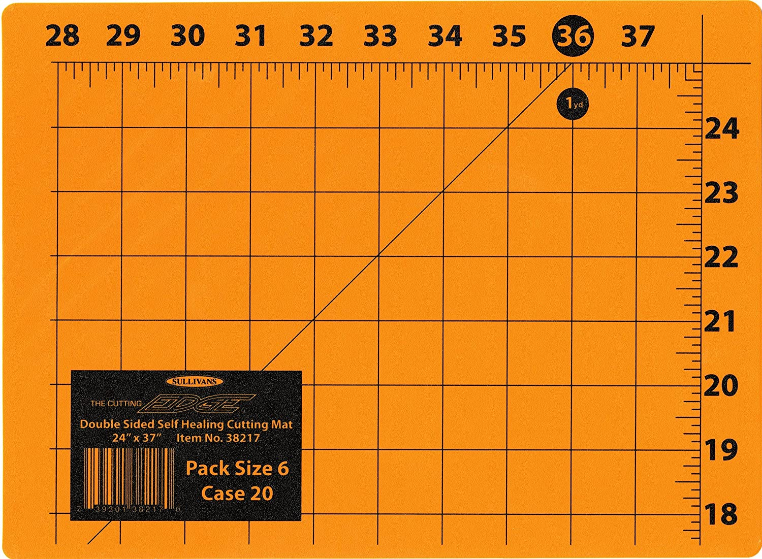 Sullivans The Cutting Edge 24-Inch-by-37-Inch Cutting Mat 38217