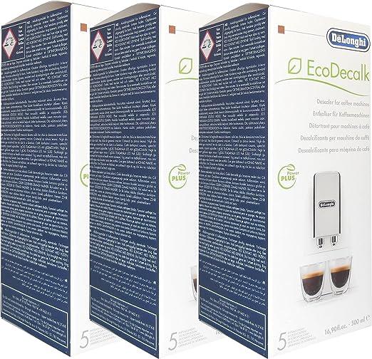 Descalcificador de máquina de café DeLonghi Magnifica (3 botellas de 500 ml): Amazon.es: Hogar
