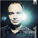 プロコフィエフ : ピアノ・ソナタ VOL.1 (Sergei Prokofiev : Piano Sonatas Nos. 2, 6, 8 / Alexander Melnikov) [CD] [輸入盤] [日本語帯・解説付]
