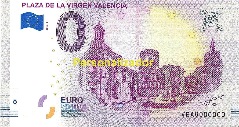 Euro Billets - 0 Euro - Valencia Placa de la Virgen Valencia - Series 001301 hasta 001400