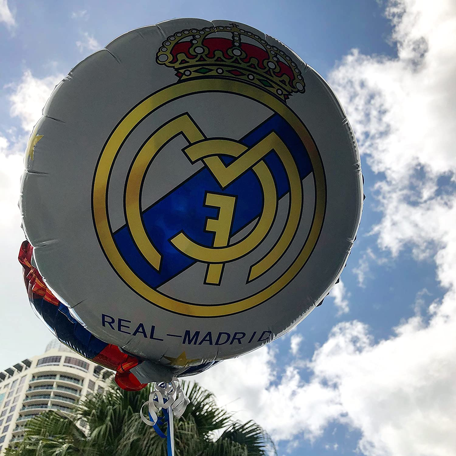 Amazon.com: Real Madrid globo de decoración de la fiesta de ...