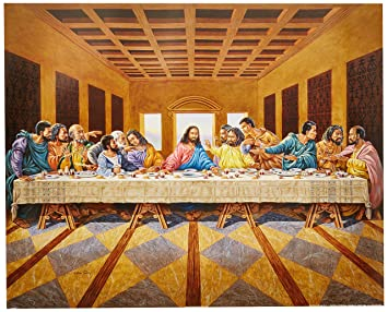 Amazoncom African American Black The Last Supper Jesus Christ