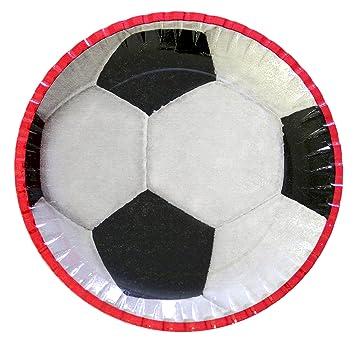 Balón de fútbol Party - Platos 23 cm Party - Juego infantil ...