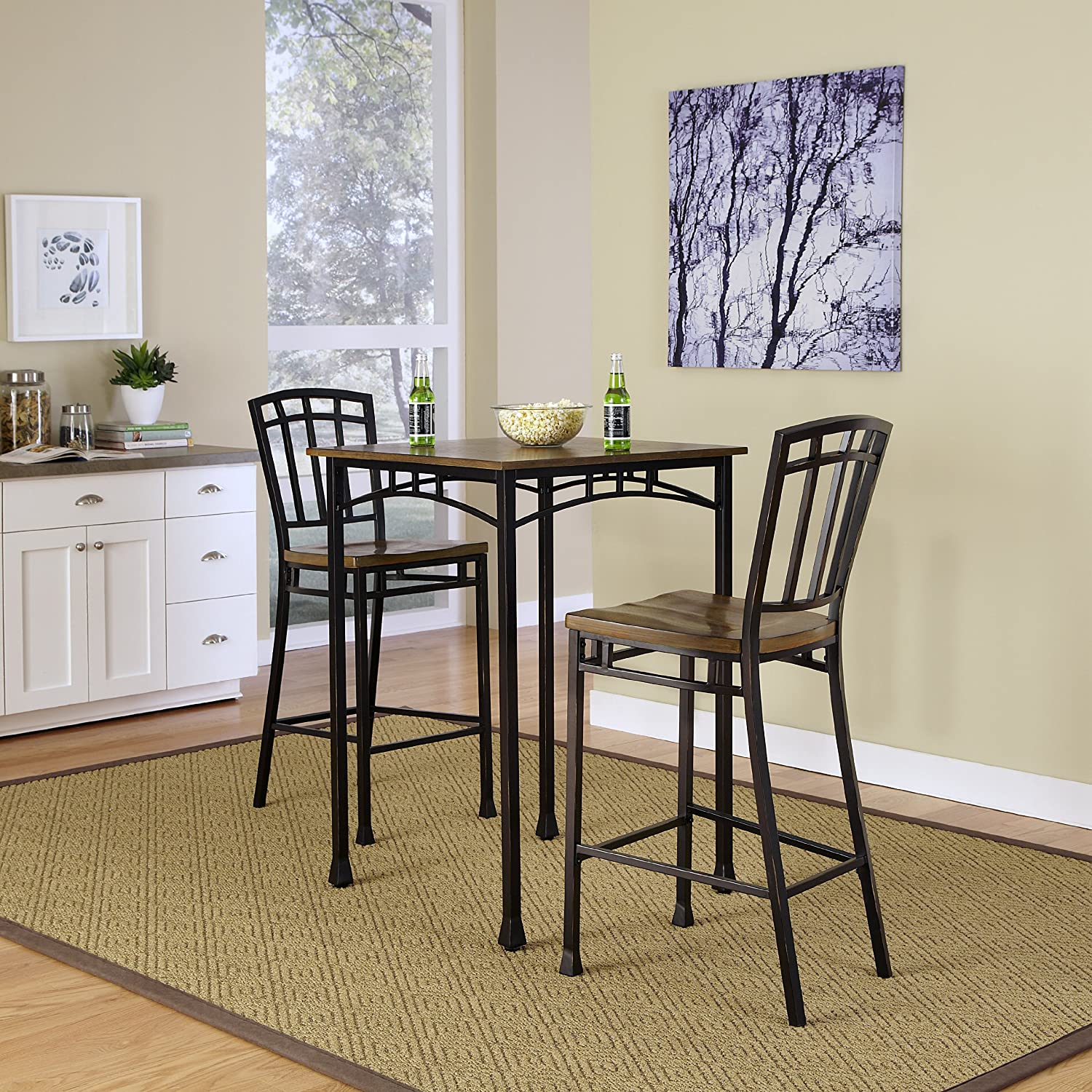 Amazon Home Styles Modern Craftsman 3 Piece Bistro