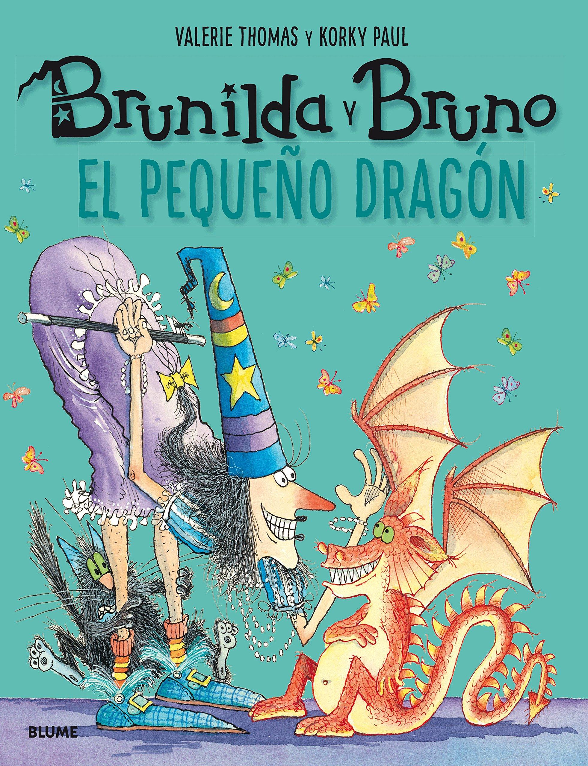 Brunilda y Bruno. El pequeño dragón: Amazon.es: Thomas, Valerie, Korky, Paul, Rodríguez Fischer, Cristina, Diéguez Diéguez, Remedios: Libros