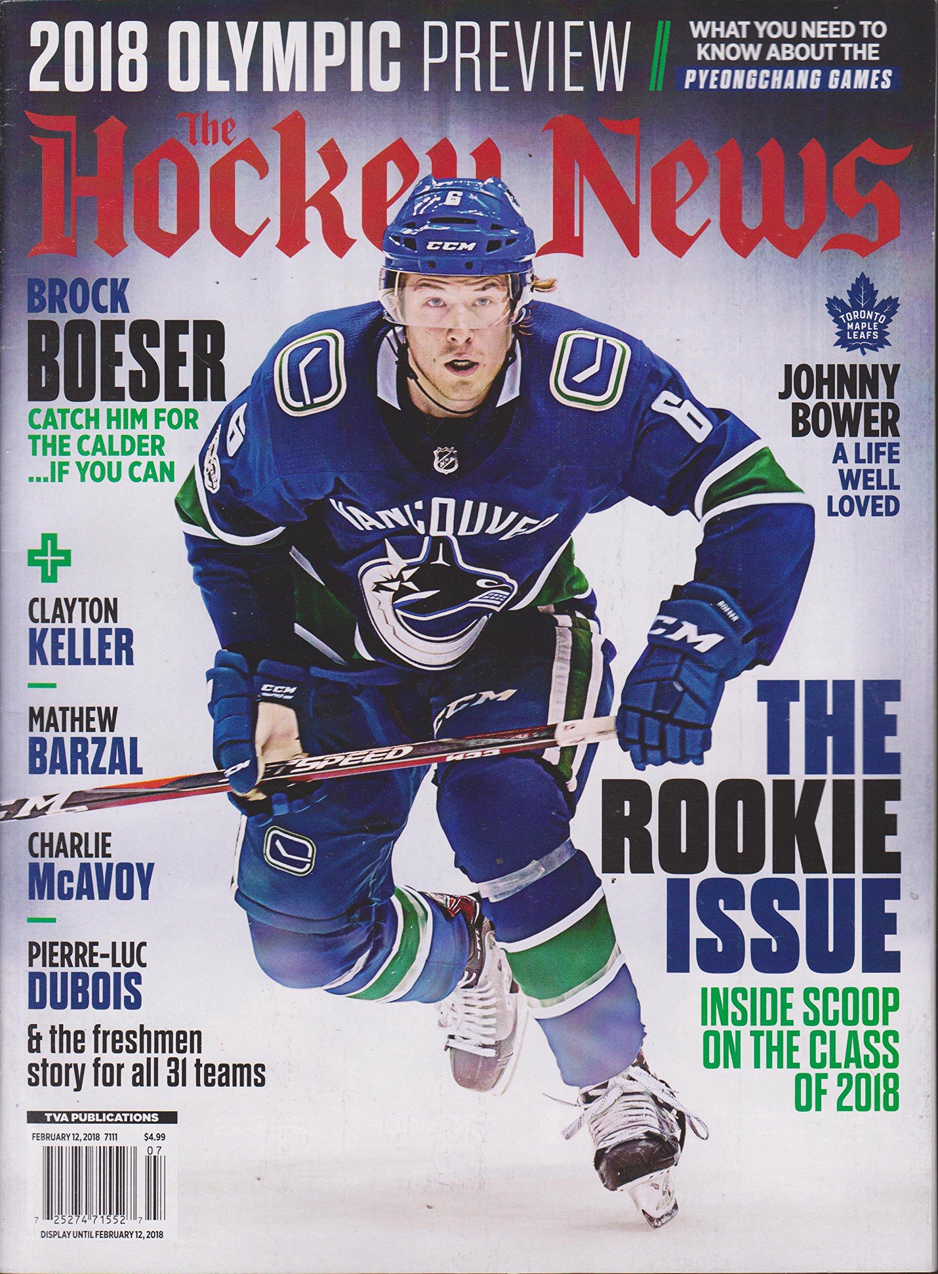 The Hockey News Magazine February 12 2018 PDF
