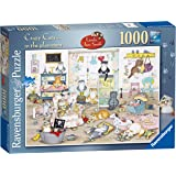 Ravensburger Crazy Cats - In the Playroom, 1000pc Jigsaw Puzzle