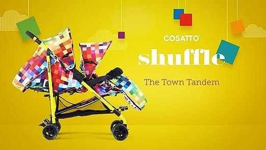 Cosatto Shuffle Megastar Tandem Stroller Grey