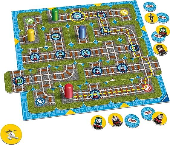 Ravensburger Thomas & Friends Labyrinth Junior - Juego de Laberinto móvil: Amazon.es: Juguetes y juegos
