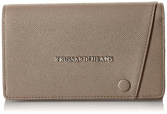 2a5211652b Trussardi Jeans Montblanc Portamonete, 20 cm, Taupe: Amazon.it: Valigeria