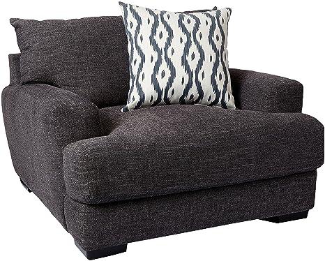 Amazon.com: Franklin muebles silla y una mitad, Tela, Piedra ...