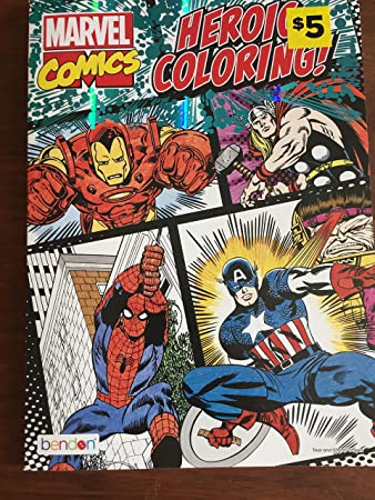Amazon.com: marvel comics heroic coloring book: Toys & Games
