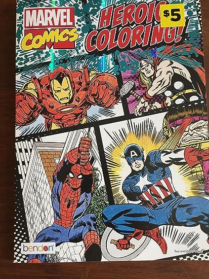 Amazon.com: marvel comics heroic coloring book: Toys & Games