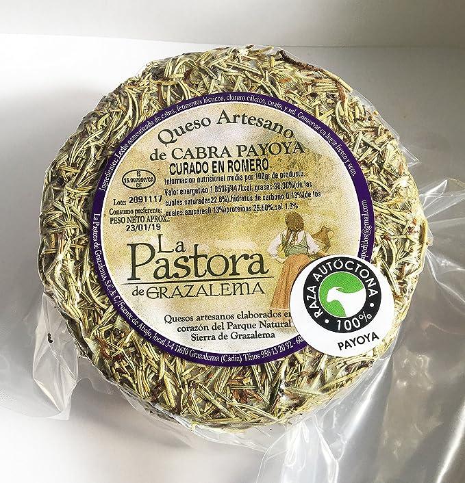 Queso Artesano de Cabra curado en romero. La Maroma Gourmet. Productos Andaluces de La