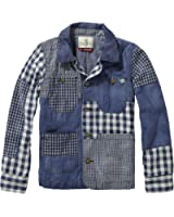 Scotch & Soda Shrunk Jungen Hemd Patchworked