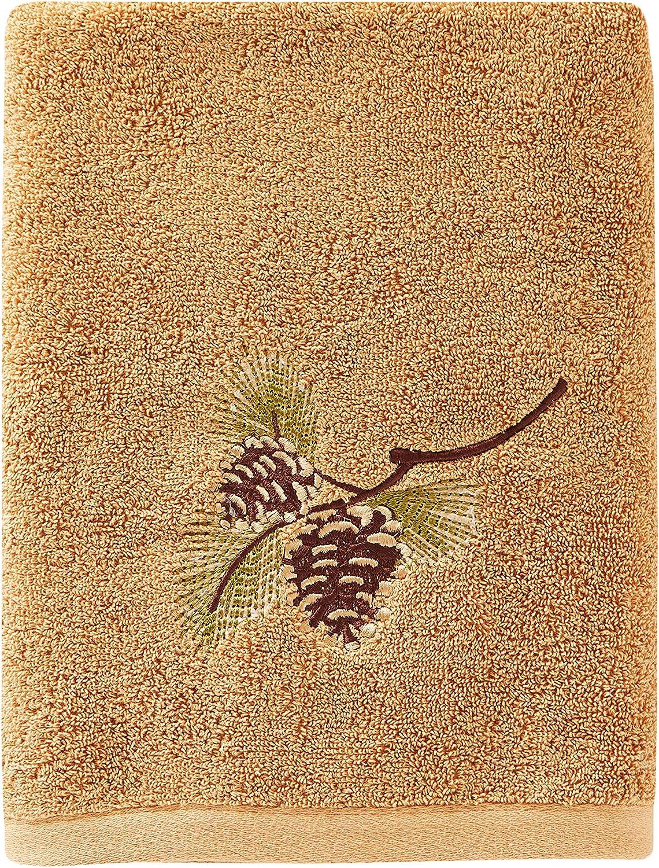 SKL Home by Saturday Knight Ltd. Pinehaven Bath Towel, Wheat