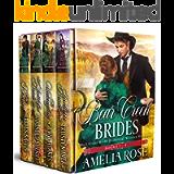 Bear Creek Brides: Books 1-4: Mail Order Bride Historical Western Romance (Bear Creek Brides Collection Book 1)