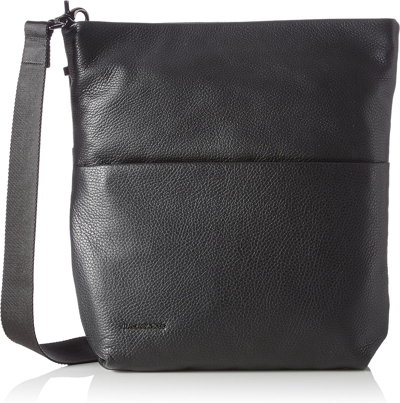 Mandarina Duck Mellow Leather Tracolla, Bolso Bandolera para Mujer