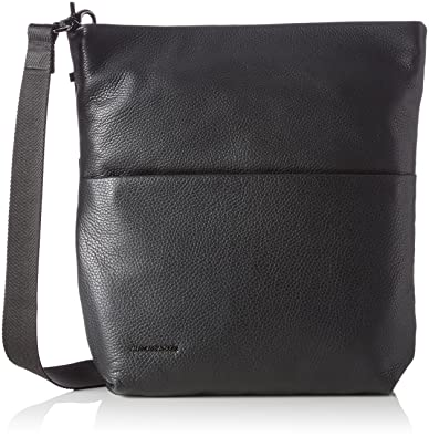 282b0e7fc1 Mandarina Duck Women's Mellow Leather Tracolla Cross-Body Bag, Black  (Nero), 10x21x28.5 cm (B x H x T): Amazon.co.uk: Shoes & Bags