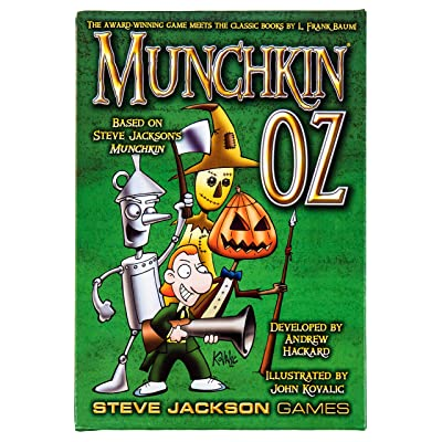 Steve Jackson Games Munchkin Oz Game: Toys & Games