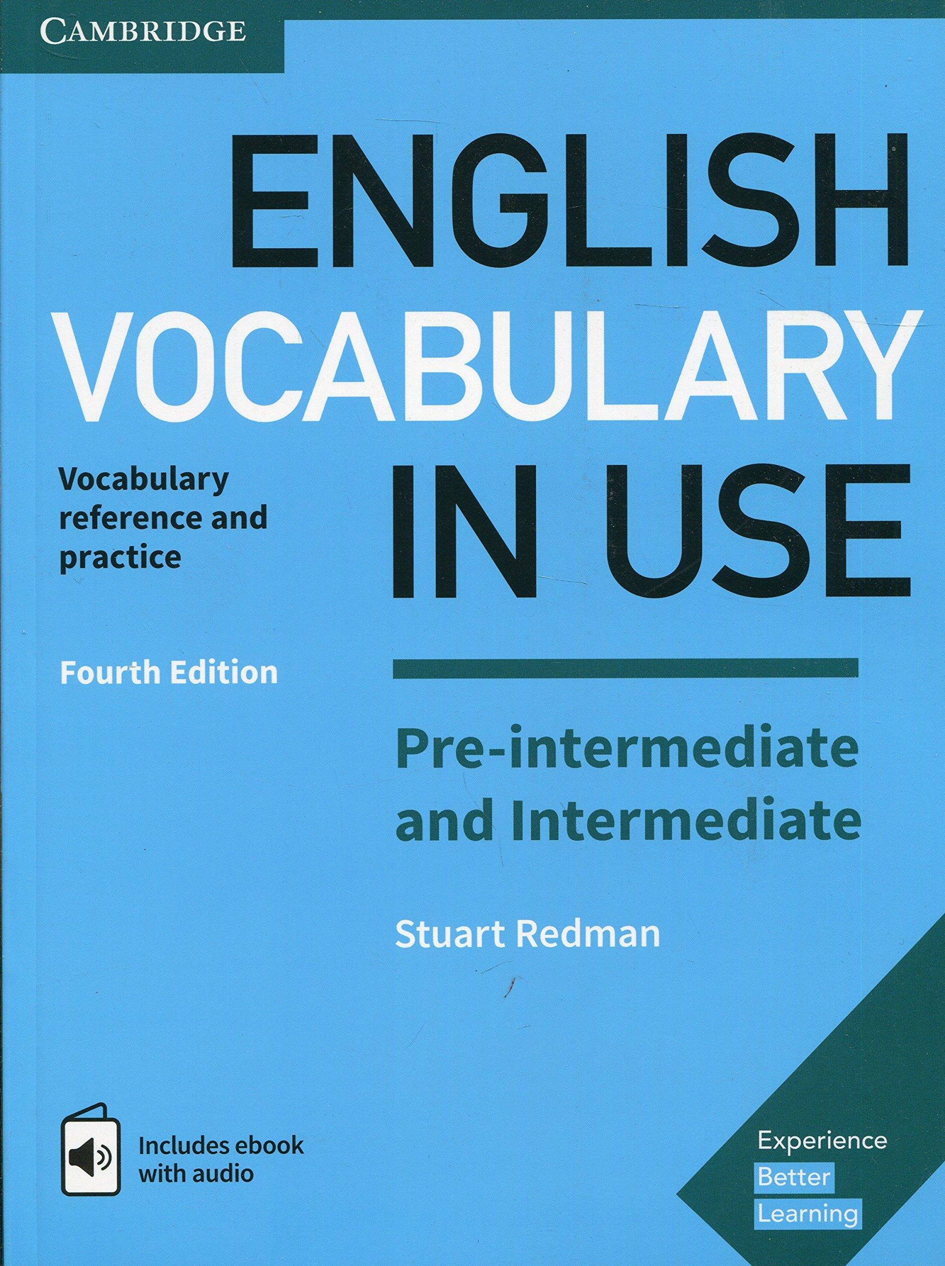 English Vocabulary in Use Pre-intermediate and Intermediate Book ...