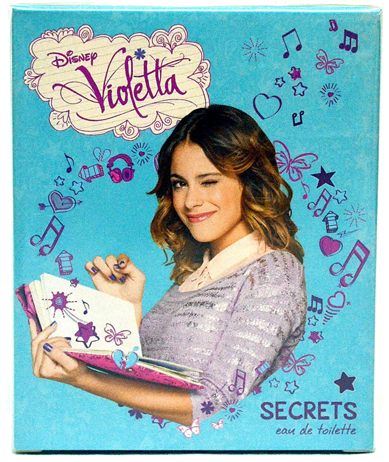 Amazon.com: Disney Violetta Costume Dress Vestido - Original + 1 Violetta Perfume (1.7 Oz): Clothing