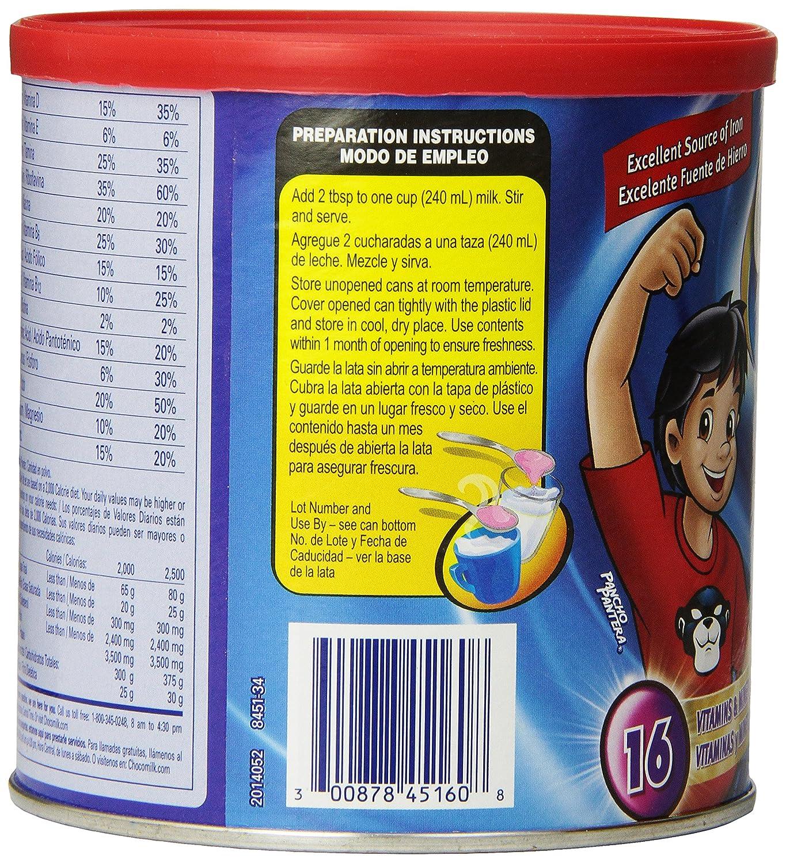 Amazon.com : Choco Milk Chocolate, 14.1oz : Nutrition Beverages : Grocery & Gourmet Food