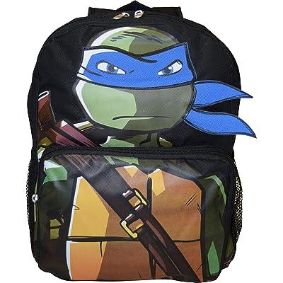 """TMNT Ninja Turtles Deluxe 14"""" School Bag"""
