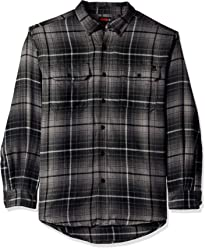 Wolverine Mens Escape Long Sleeve Performance Flannel