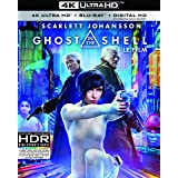 Ghost in the Shell [4K UHD + BD + UV] [Blu-ray]