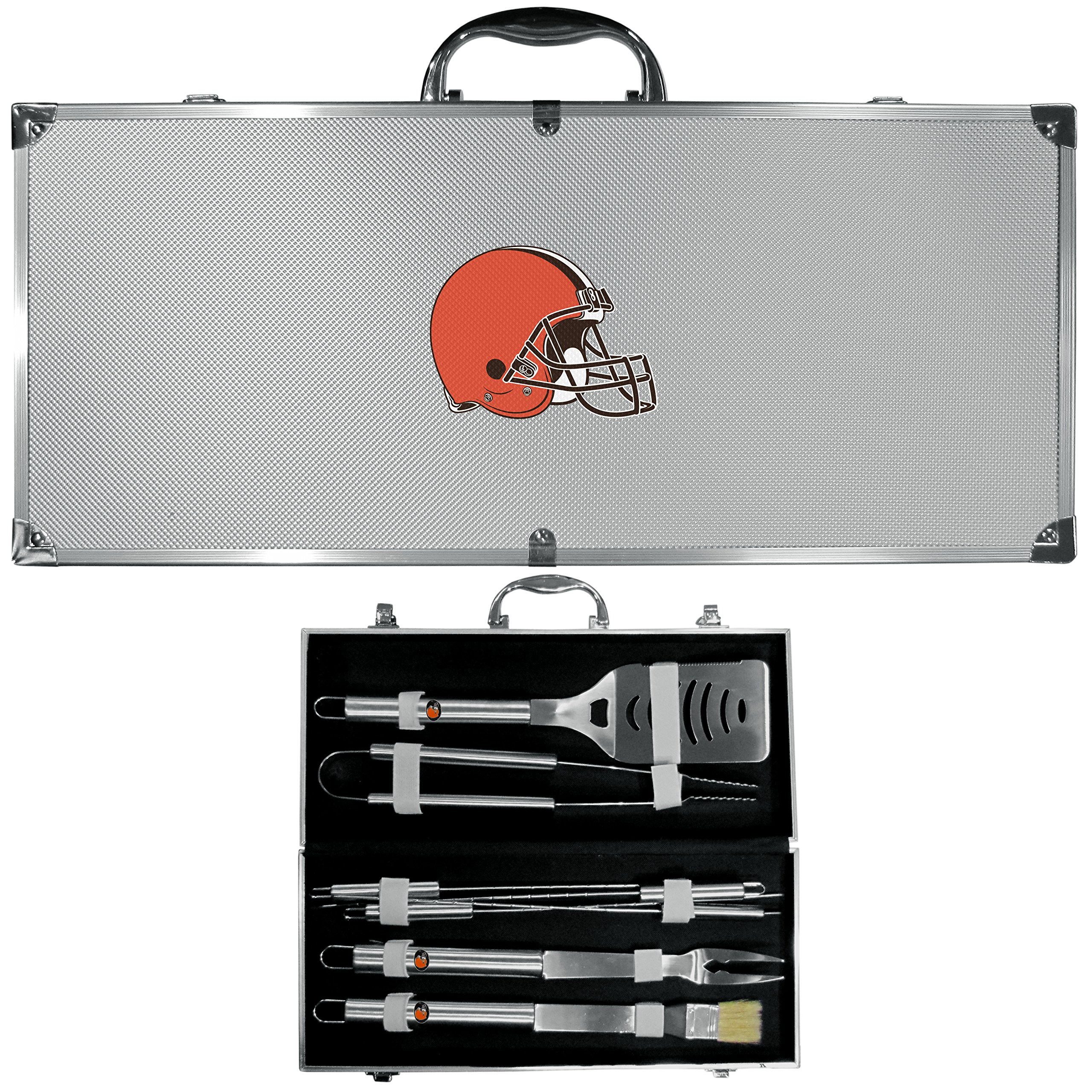 Siskiyou NFL Cleveland Browns 8-Piece Barbecue Set w/Case