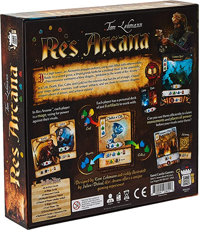 Sand Castle Games RA0101 Res Arcana,, estándar: Amazon.es ...