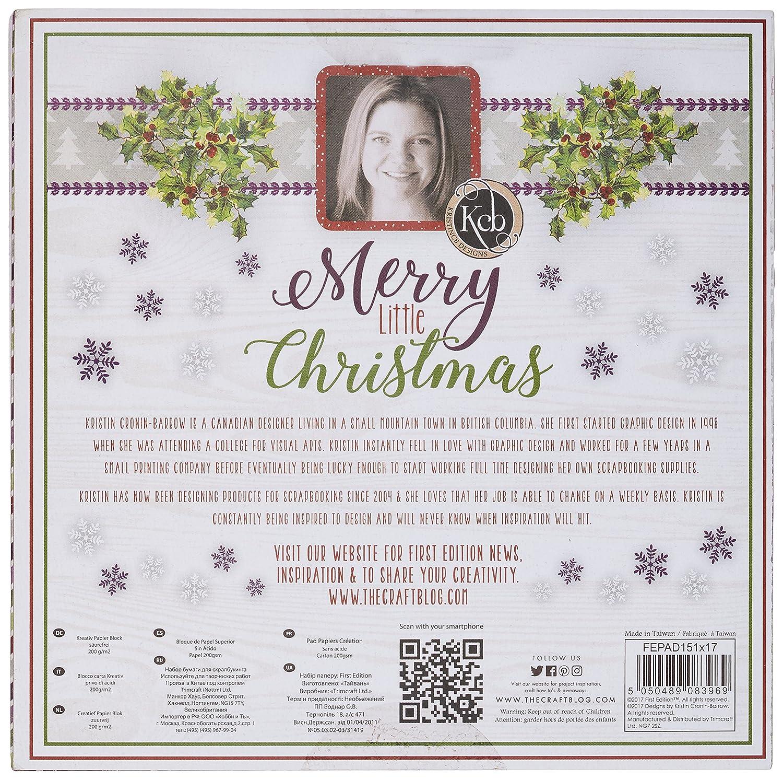 First Edition Weihnachten – Merry Little Christmas Premium Papier