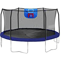 Skywalker 15-Feet Jump N Dunk Trampoline (Multiple Colors)