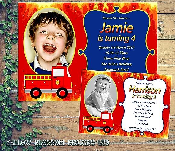 Personalised Childrens Birthday Invitations Printed Invites