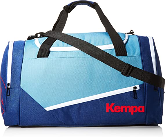 Kempa EBBE & FLUT Sports Bag Bolsa para Material Deportivo, Unisex Adulto, Dove Azul/Azul océano, M