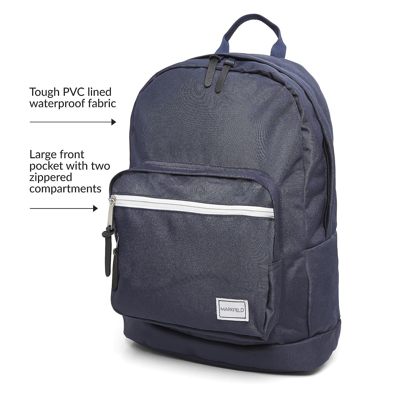 Markfield Hard Wearing Grey Backpack Rucksack Plenty Of Storage Boys' Accessories