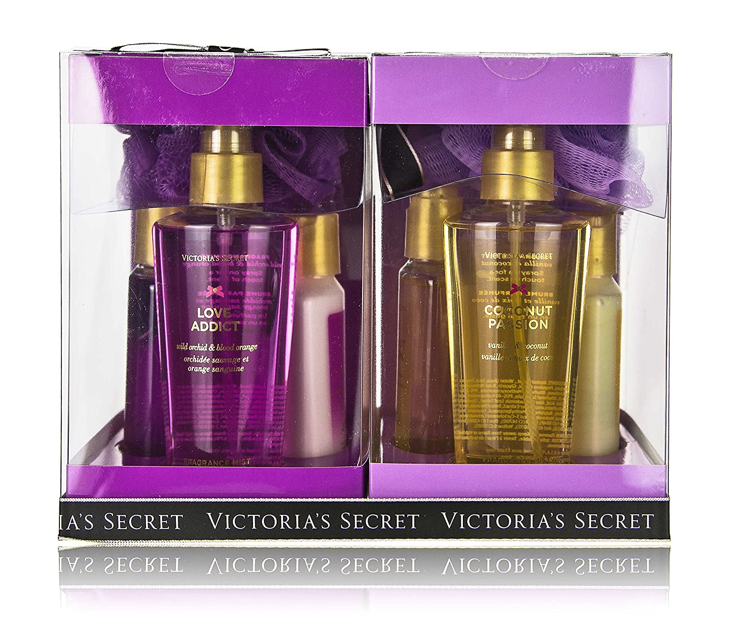 Victorias Secret Coconut Passion & Love Addict Gift Set