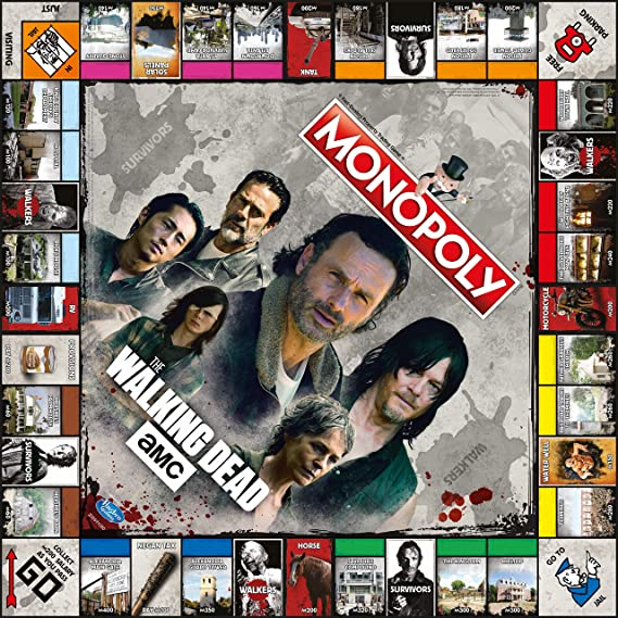Monopoly The Walking Dead [GRA PLANSZOWA]: Amazon.es: Juguetes y juegos