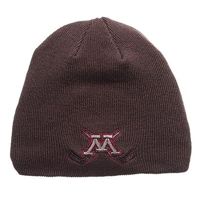 e817ff69 ZHATS Minnesota Golden Gophers Charcoal Gray Edge Skull Cap - NCAA Cuffless  Winter Knit Beanie Toque