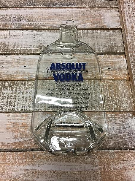 Absolut Vodka hecho a mano fundido botella bandeja para servir ...
