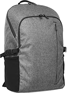 AmazonBasics Campus Backpack for Laptops up to 15-Inches - Grey