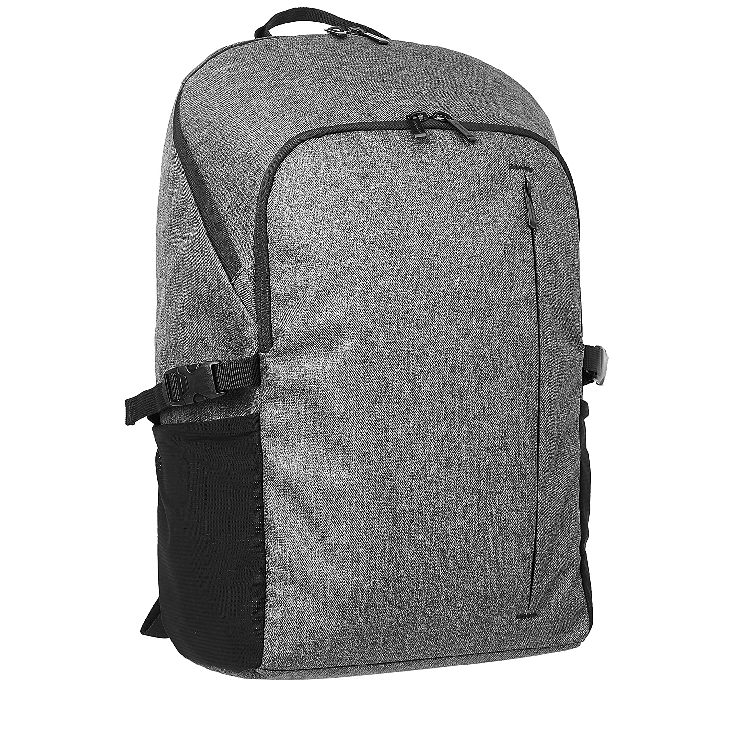 AmazonBasics Campus Backpack for Laptops up to 15-Inches – Grey