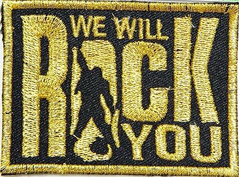 We Will Rock You Reina música banda Logo Heavy Metal Punk Rock ...