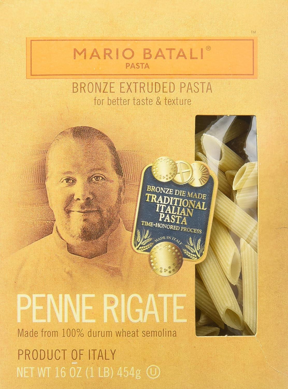 Amazon Com Mario Batali Pasta Penne Rigate Grocery Gourmet Food