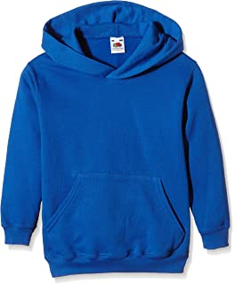 Fruit of the Loom Unisexs Pull-Over Classic Hooded Sweat