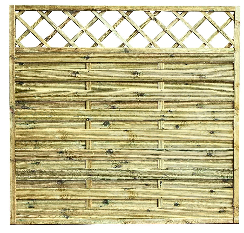 AVANTI TRENDSTORE - Cremona - Pannello salvavista in legno di pino massiccio, autoclave, disponibile in 3 misure diverse (90 x180 cm)