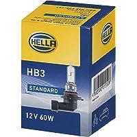 HELLA 8GH 005 635-121 gloeilamp - HB3 - standaard - 12V/60W - P20d - doos - hoeveelheid: 1